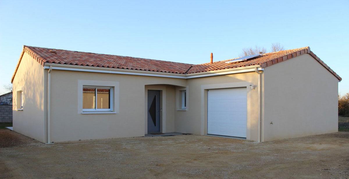 Travaux pour la r alisation de votre maison neuve poitiers for Construction maison neuve 92